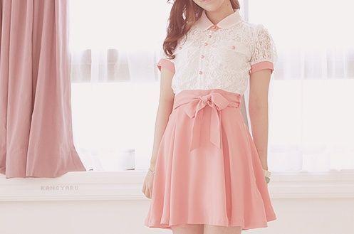 Imagem de pink, fashion, and dress