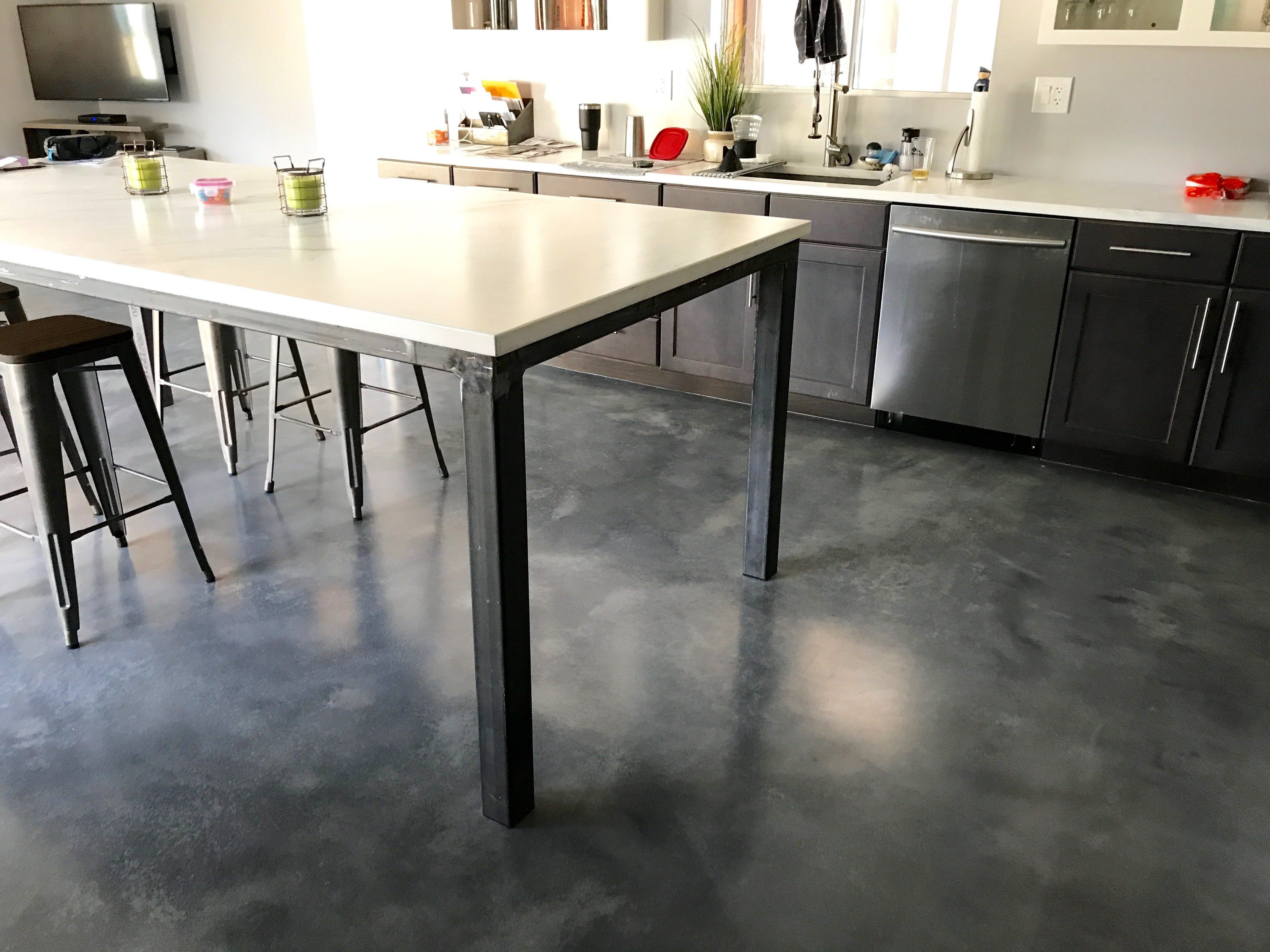 Countertops And Floors Done By Elastocrete And A Few Teams In Phoenix Countertops Flooring Concrete Floors