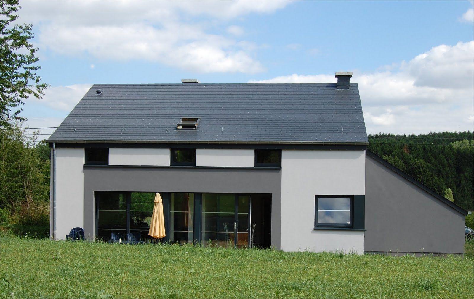 maison en bois avec crepi recherche google maisons en bois avec crepi pinterest maison