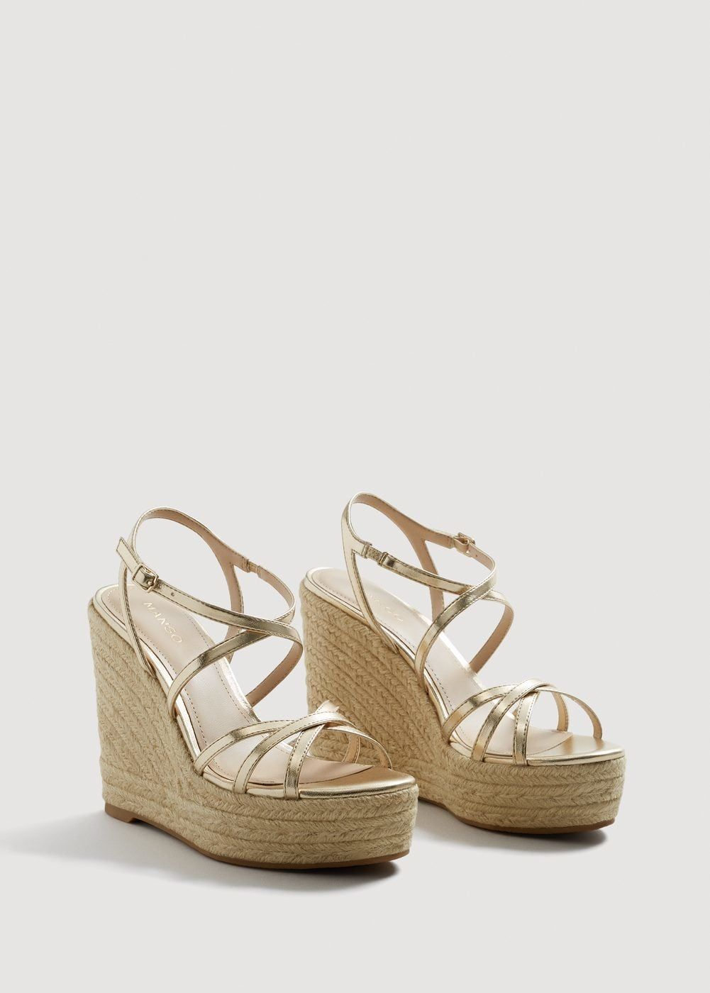 Mas Cuña Zapatos Cruzada Sandalia MujerY De 0Omv8Nnw
