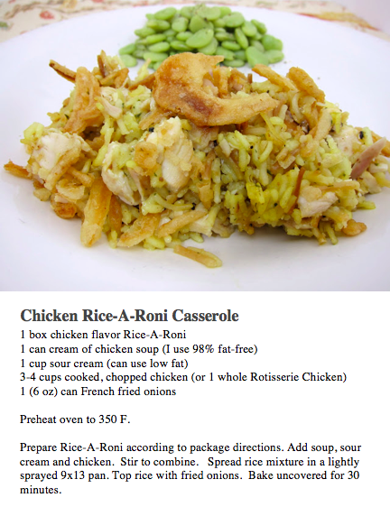 Chicken Rice A Roni Casserole Rice A Roni Ricearoni Recipes Chicken Recipes Casserole