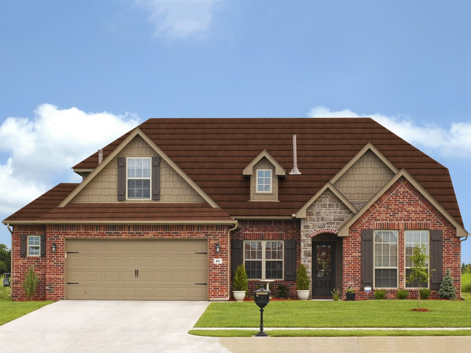 Design Your Next Project With This Powerful Tool Upload A Photo Of Your Home Or Try A Sample Home Choose Styles And Co House Exterior House Styles Metal Roof