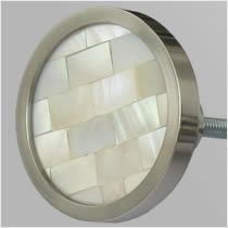 Superieur Mother Of Pearl Inlaid Cabinet Knob From Chloe Alberry, A Perfect Match For  Our Troca