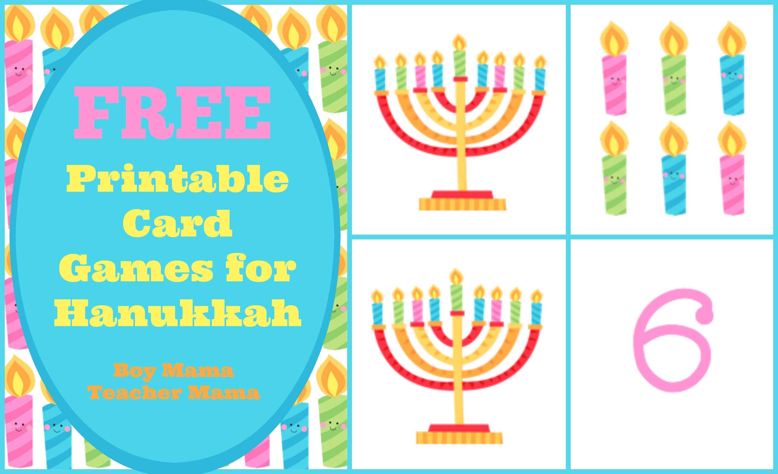 Boy Mama Free Printable Card Games For Hanukkah Free Printable Cards Hannukah Crafts Printable Cards [ 2000 x 3283 Pixel ]