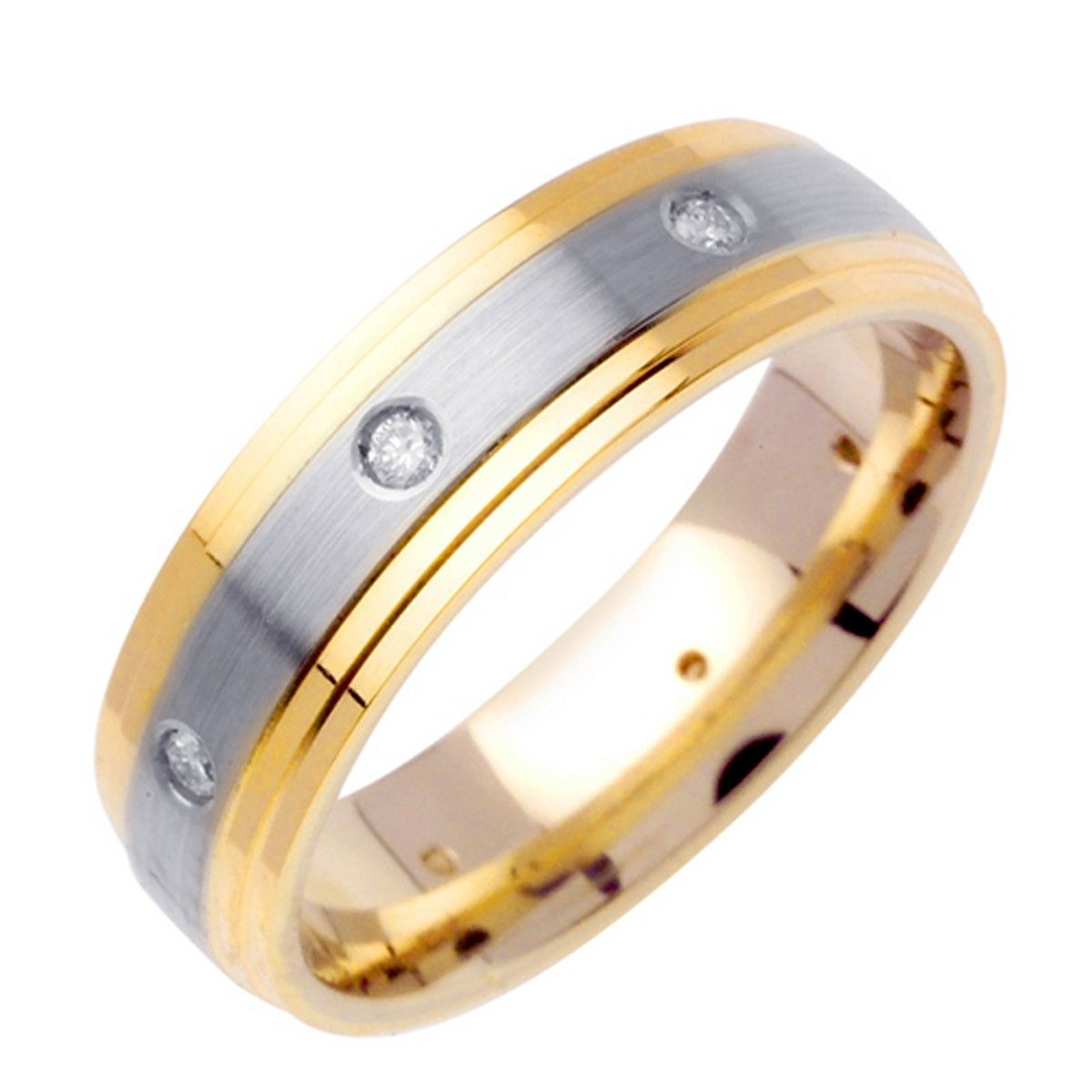 diamond of round gold ring jewellery rings in mens s channel set wedding white ctw men best