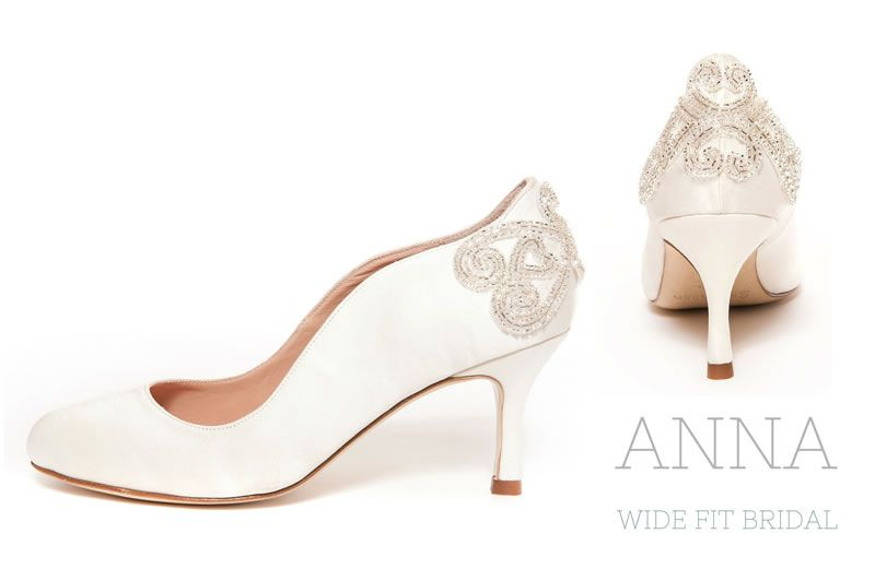 These Wide Fitting Wedding Shoes Will Keep You Dancing All Night