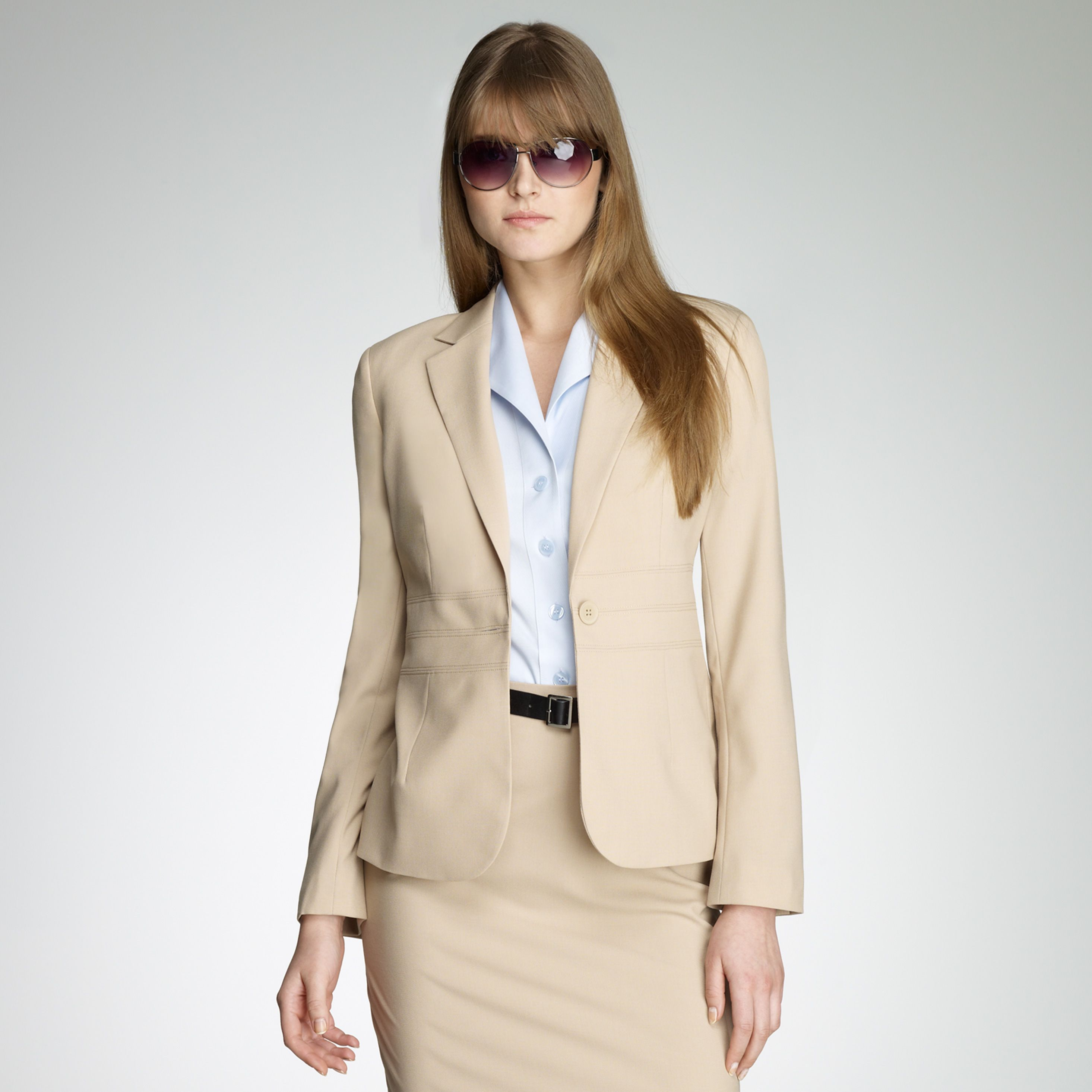 Washable Wool Career Jacket | Women in High Power/Dominate Poses ...