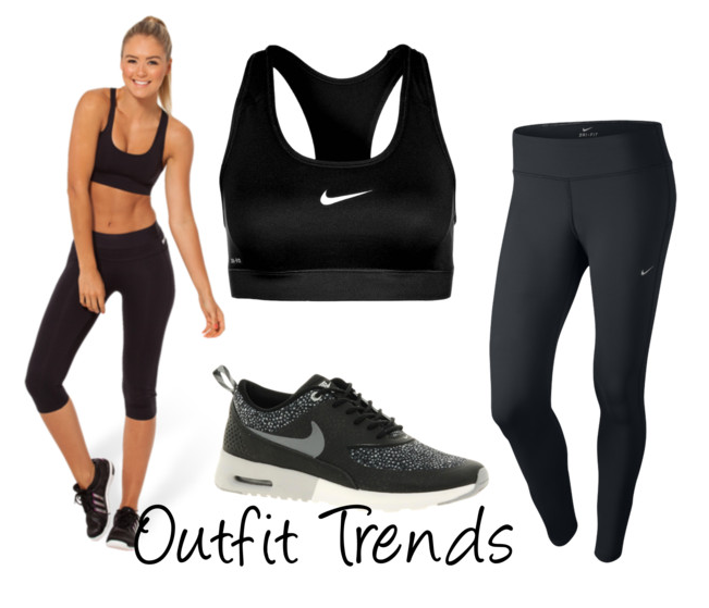 a773fc3c4 10 Super Cool Gym Outfits for Women- Workout Clothes | Outfit Trends |  Outfit Trends