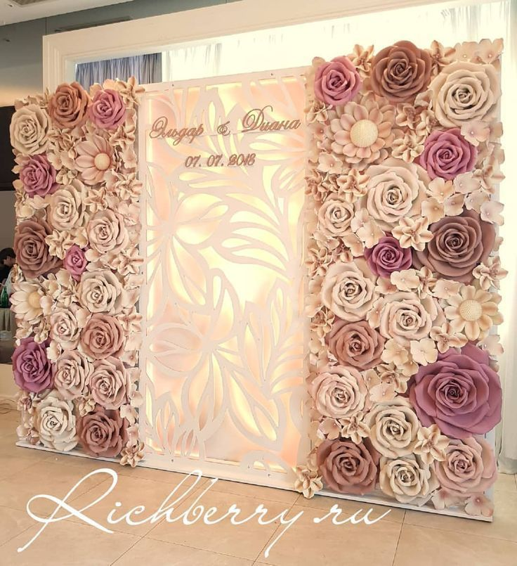 Step and repeat, round Paper flower wall, circle Paper flower wall, Houston Paper Flowers, Houston ceremony backdrop, Houston backdrop rental, corporate event in Houston,  MyKingList com is part of Flower wall wedding -