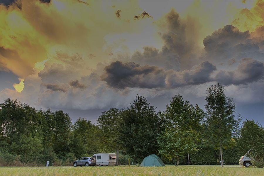Bourgogne, Frankrijk, Beautiful clouds!