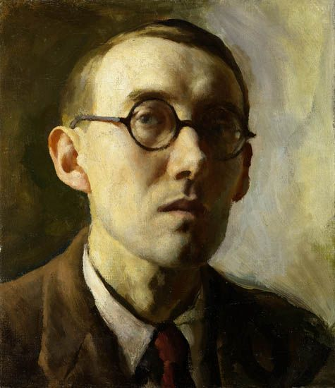 Victor Hume Moody, self portrait (1928)