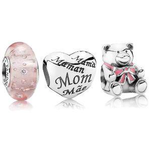 Fashion Pandora Baby Girl Charm Set