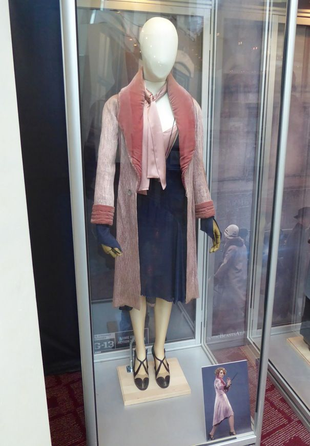 Fantastic Beasts And Where To Find Them Movie Costumes On Display