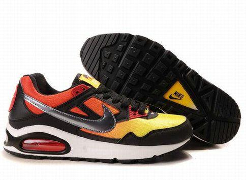 Buy Cheap D0RriIQ Men Nike Air Max Skyline Running Black Gray Yellow Orange
