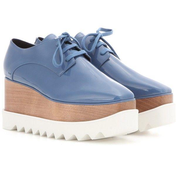 06e0d0bd6bd Stella McCartney Elyse Platform Derby Shoes (20 335 UAH) ❤ liked on  Polyvore featuring