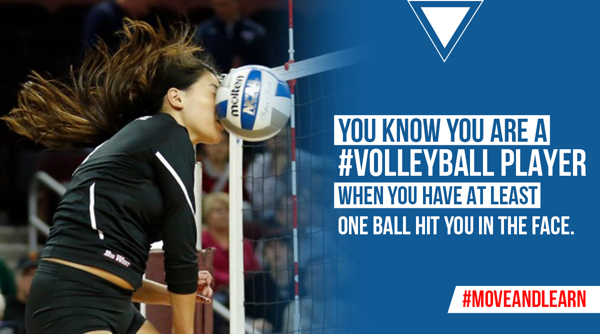 Pin By Move And Learn On Volleyball Facts Volleyball Facts Volleyball Facts