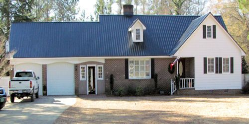 Best Blue Metal Roof Wilmington Nc Jpg 500×250 Blue Roof 400 x 300