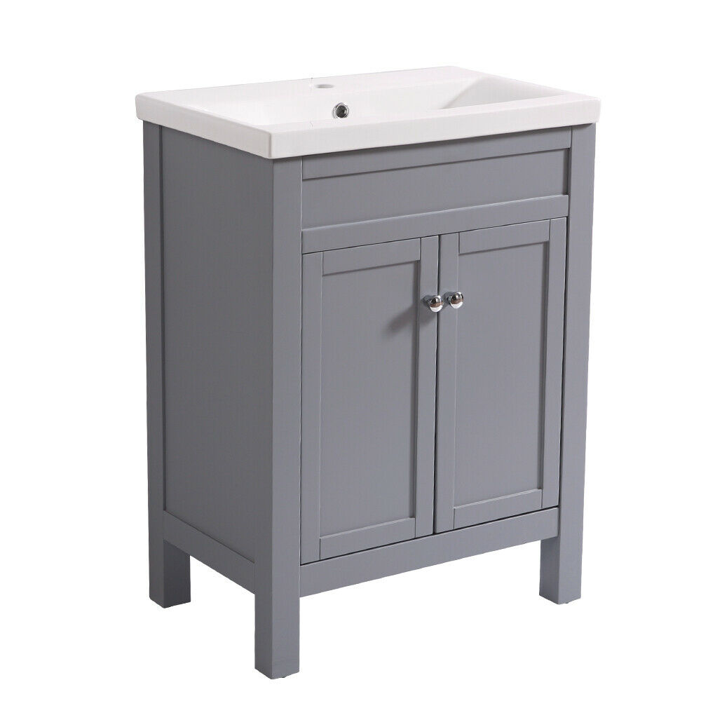 Details About Bathroom Basin Sink Vanity Unit Traditional Tall