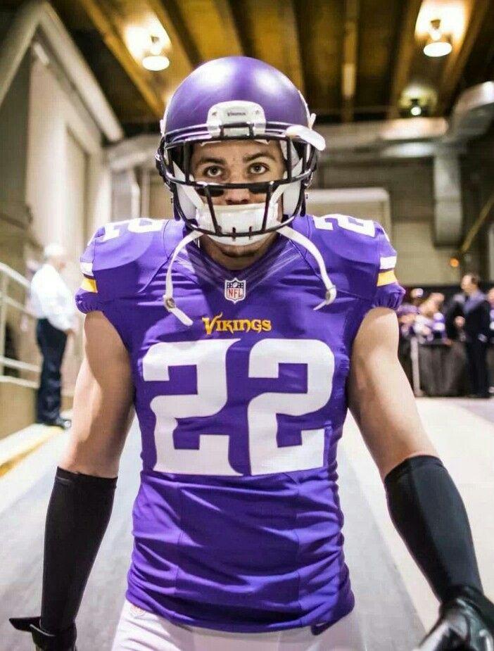 NFL Jersey's Pro Line Men's Minnesota Vikings Rodney Smith Team Color Jersey - Purple