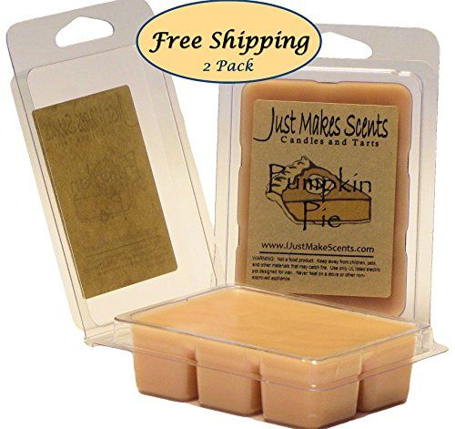 2 Pack   Pumpkin Pie Scented Wax Melts By Just Makes Scents