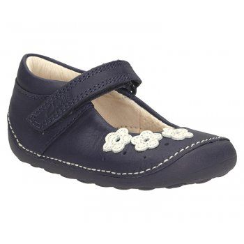 Clarks Girl's Little Darcy First Shoe