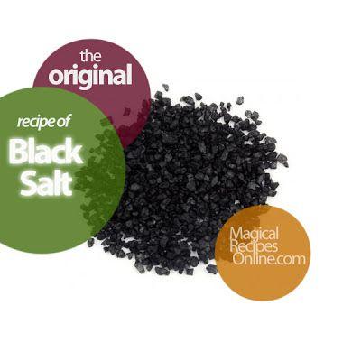 how to make black salt