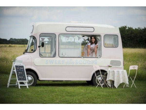 Van Hire Bedford >> Vintage 1973 Bedford Cf Ice Cream Van For Hire Perfect For