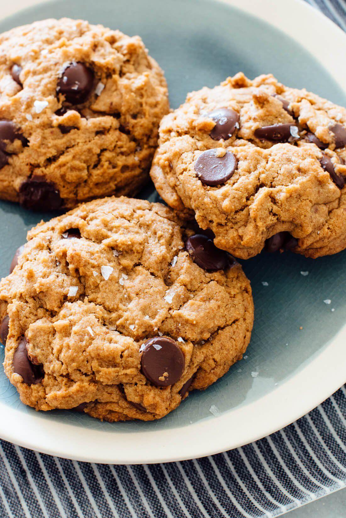 Amazing Chocolate Chip Cookies Recipe Vegan Cookie And Kate Recipe Chocolate Chip Cookies Cookies Recipes Chocolate Chip Vegan Chocolate Chip Cookies