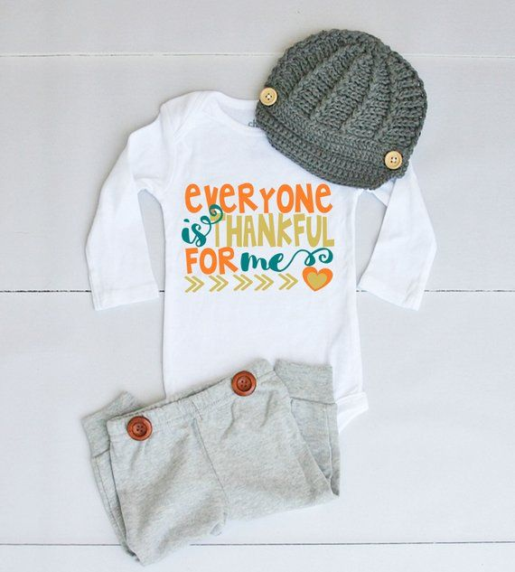 4f92b277c Everyone is Thankful for Me Outfit - Thanksgiving Outfit for Baby ...