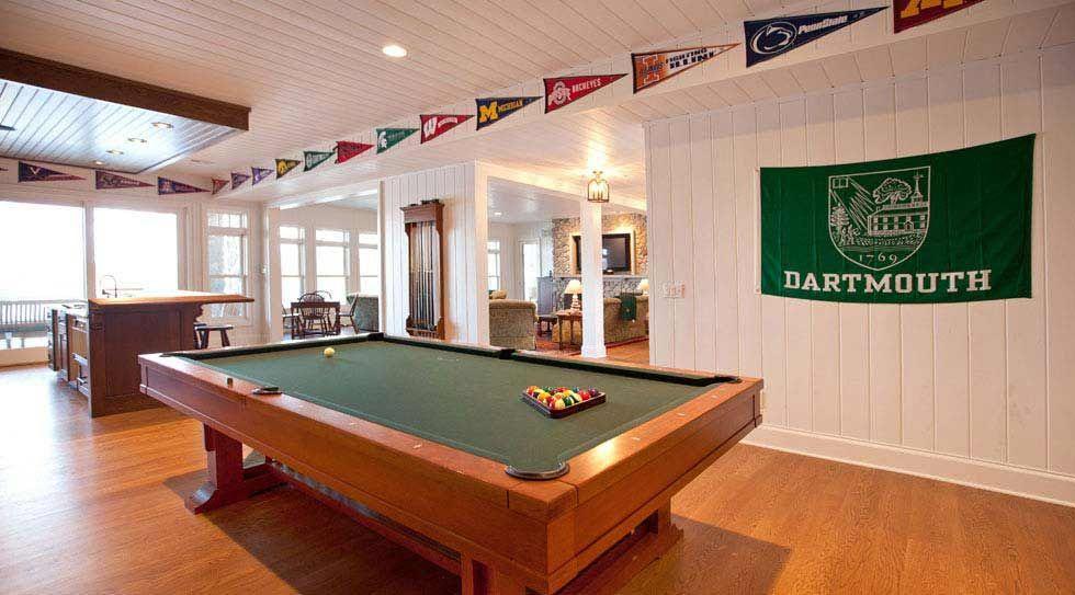 Incredible Pool Table Room Ideas | Pool table room, Diy pool table ...