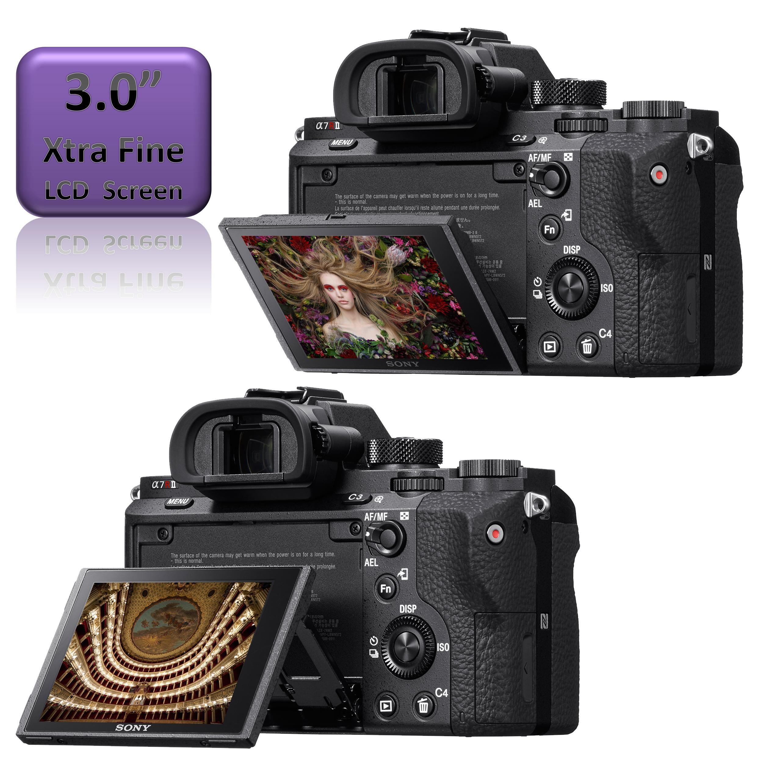Amazon.com : Sony a7R II Full-Frame Mirrorless Interchangeable Lens ...