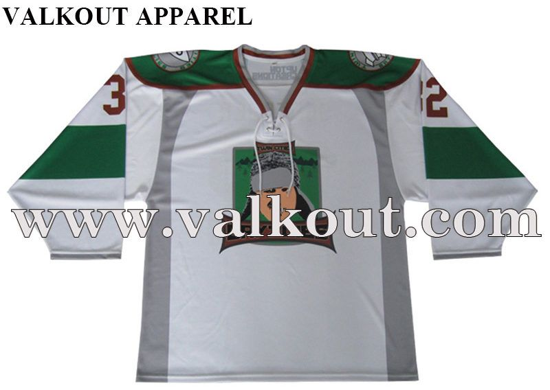 Cheap Team Ice Hockey Lace Collar Jersey Valkout Apparel Co Ltd