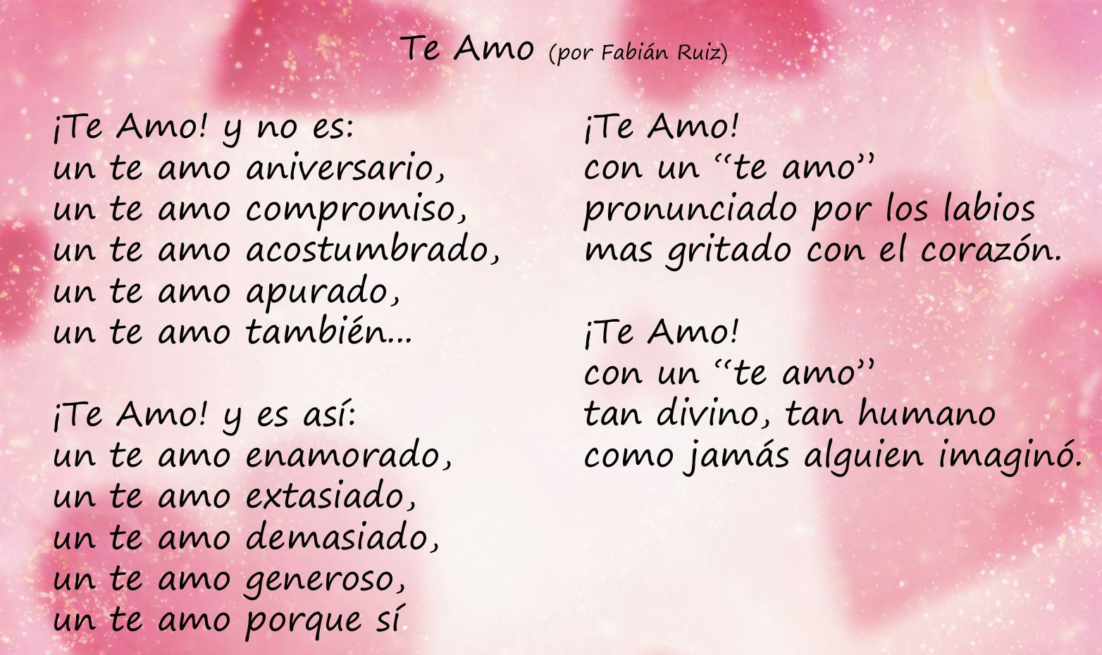 Valentines Picture Messages En Espanol Love And Images