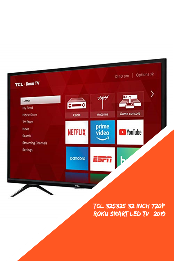 TCL 32S325 32 Inch 720p Roku Smart LED TV (2019) #new | Smart