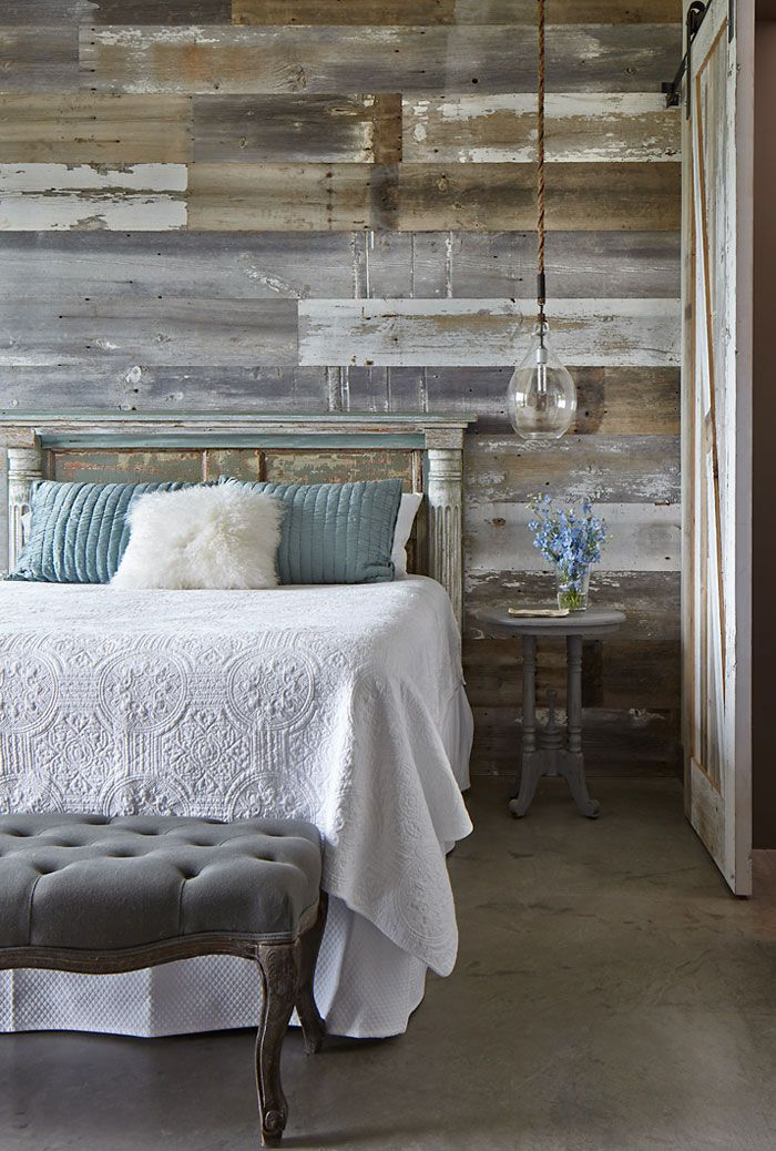 rustic bedroom green walls | Future Perfect in 2019 | Rustic wood walls, Stick on wood ...