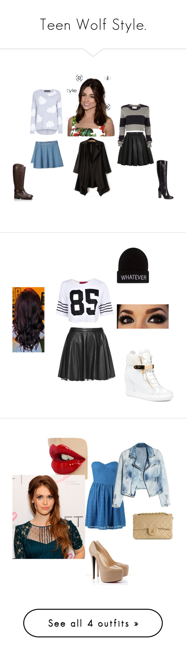 """""""Teen Wolf Style."""" by stydia-bed ❤ liked on Polyvore featuring Balmain, LULUS, A.L.C., Monki, Brooks Brothers, Tory Burch, allisonargent, Alice + Olivia, Boohoo and Giuseppe Zanotti"""