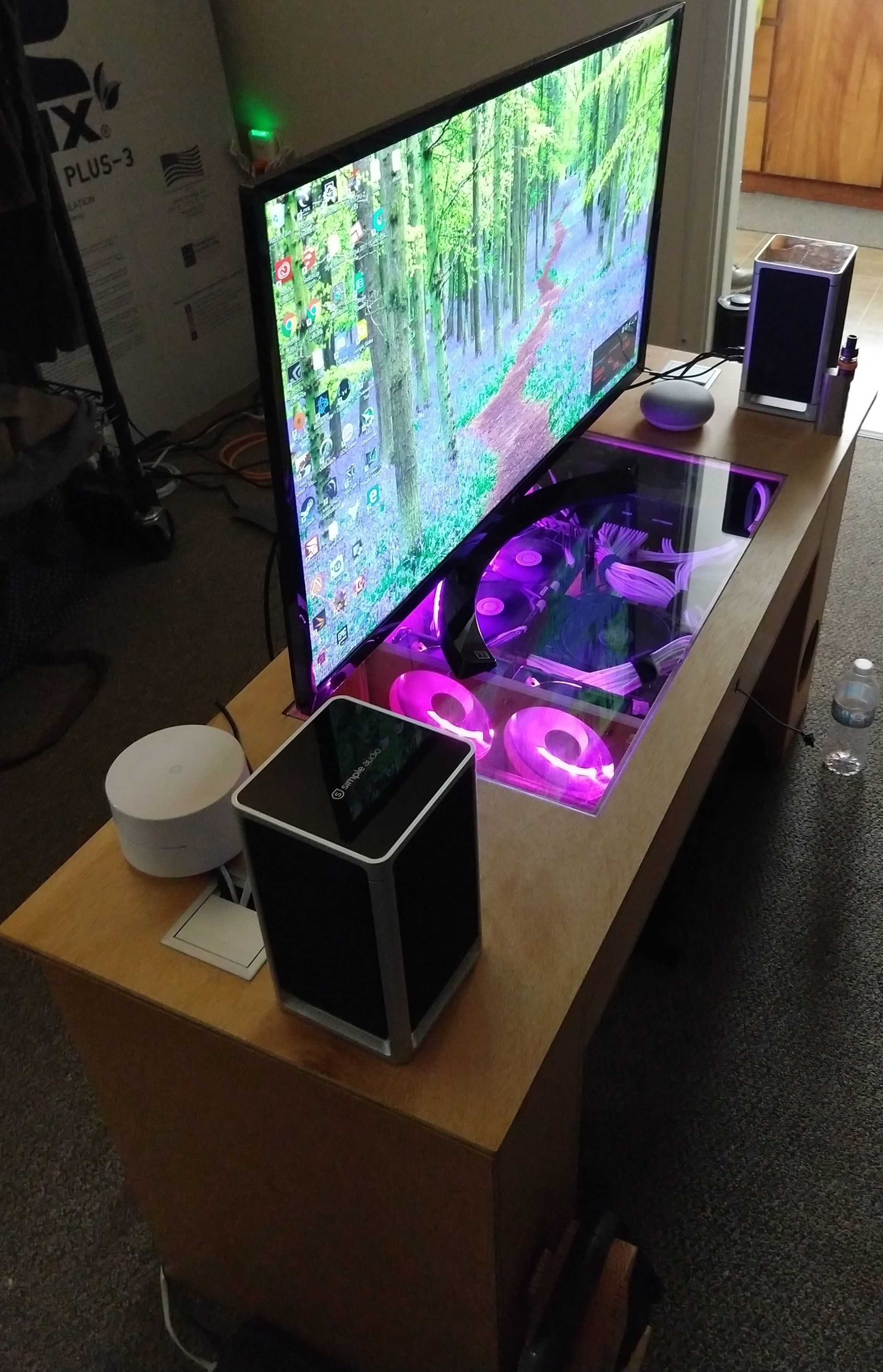 Miraculous Gaming Pc Built Into Coffee Table Computer Case Or Download Free Architecture Designs Jebrpmadebymaigaardcom