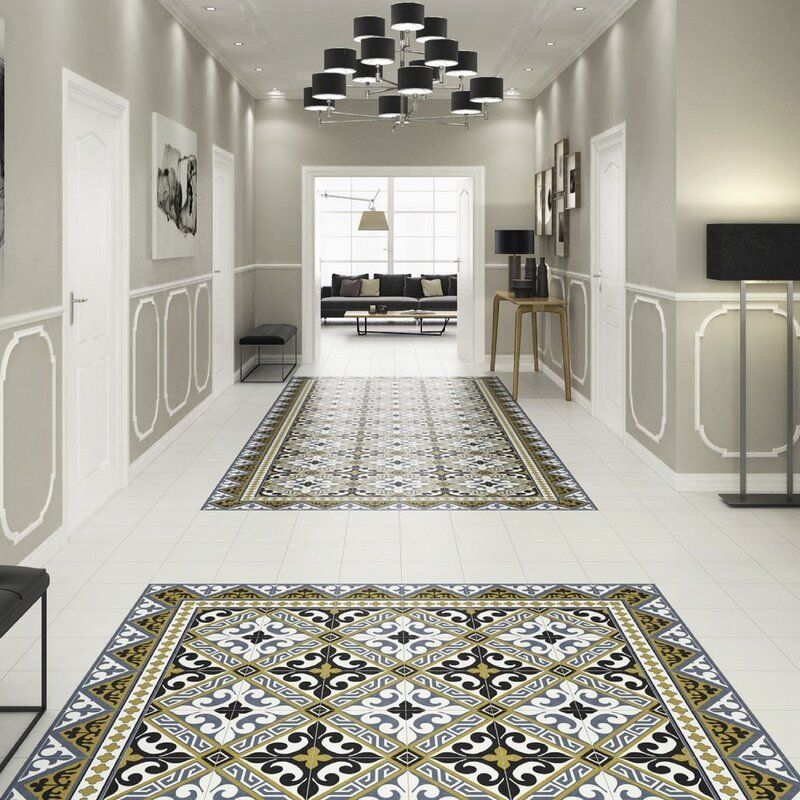 Seni Orleans Cenefa 10 X 10 Porcelain Floor Wall Border Tile Porcelain Flooring Flooring Border Tiles