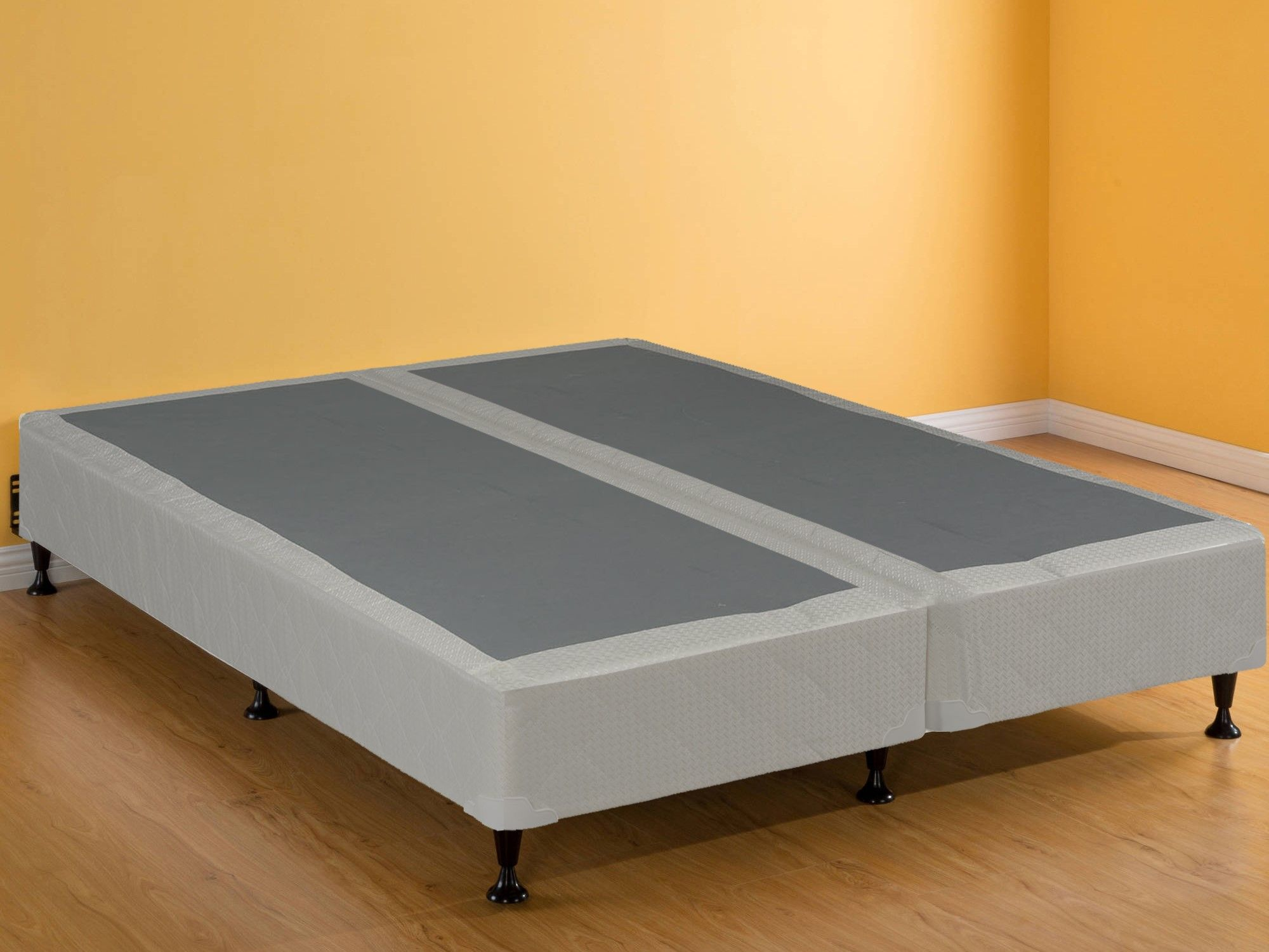 Reyteam 8 Split Box Spring Foundation For Any Kind Mattress Queen