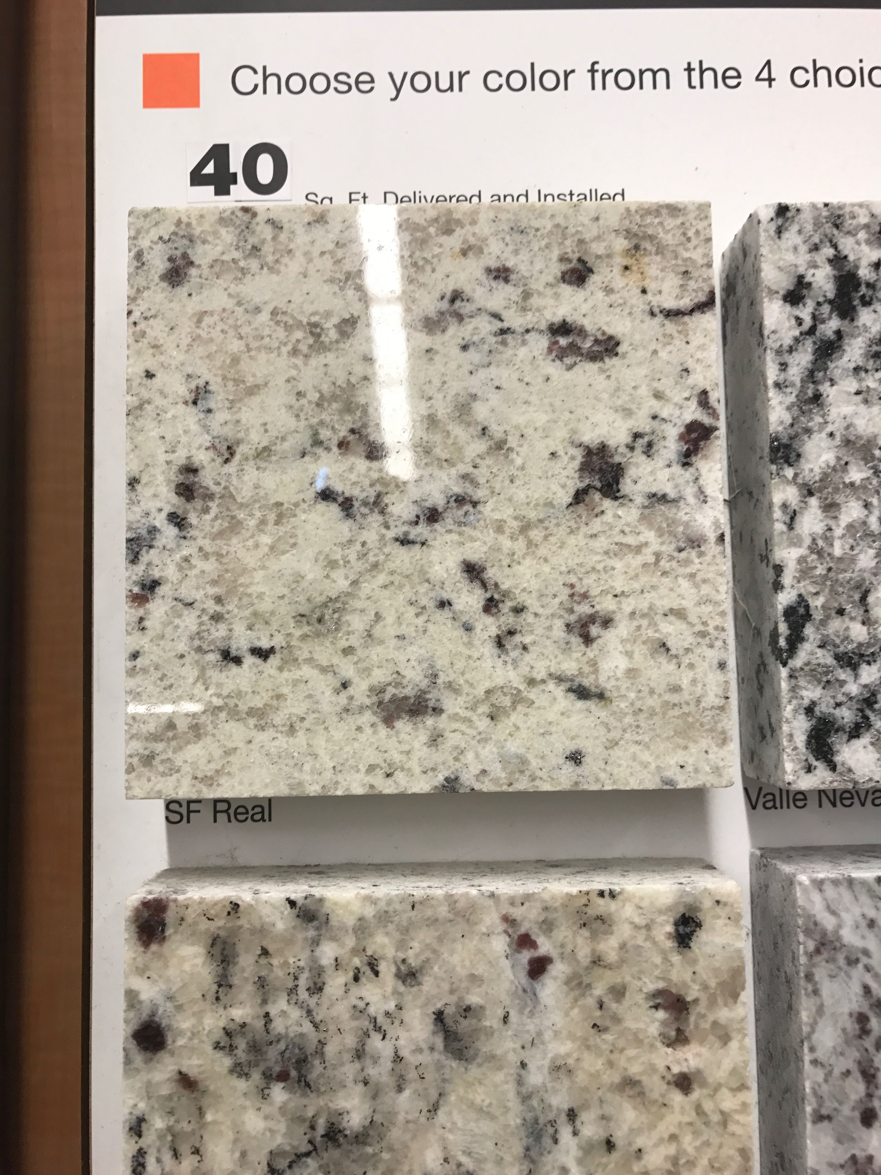 Home Depot Granite Decor