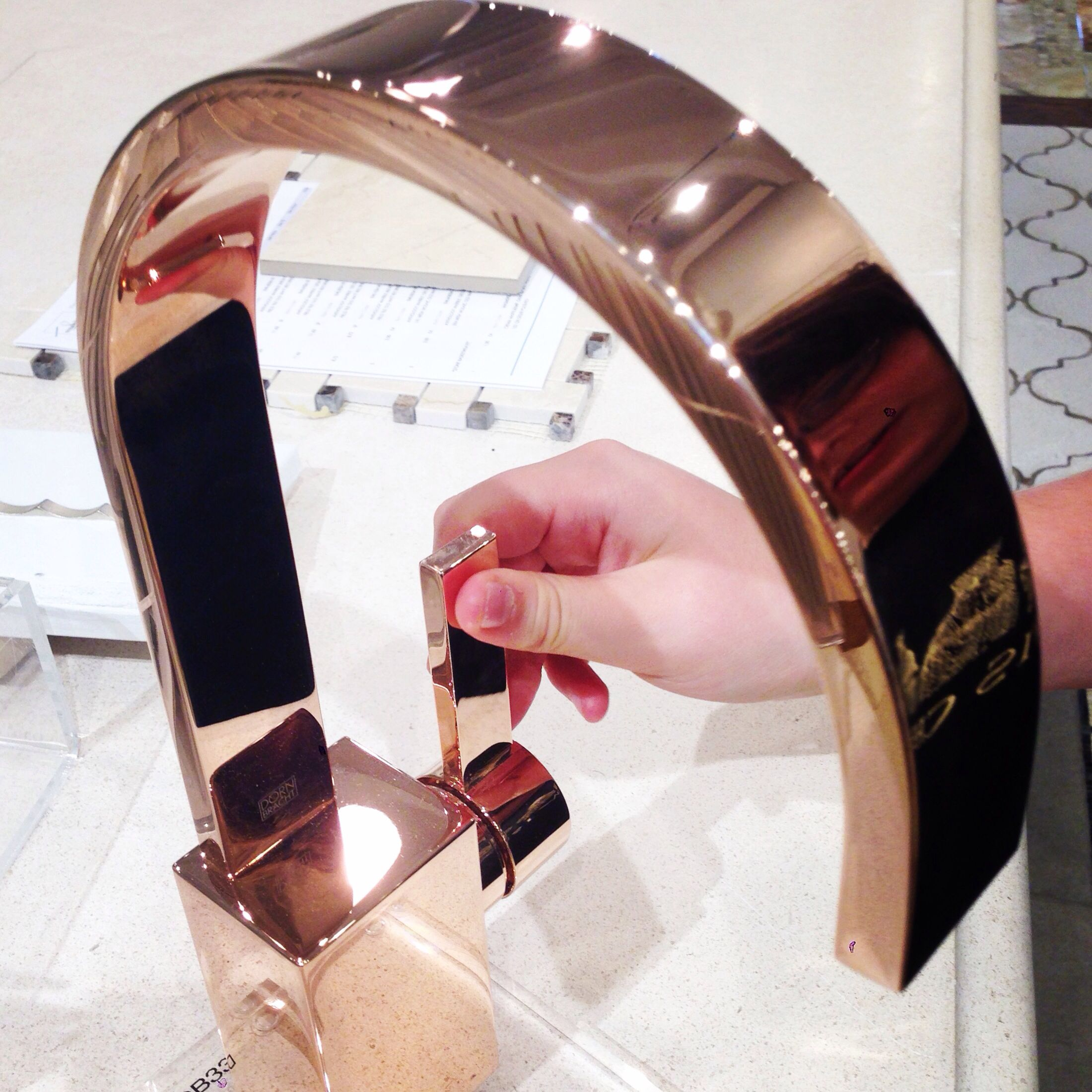 Dorn Amp Bracht Rose Gold Kitchen Faucet Available