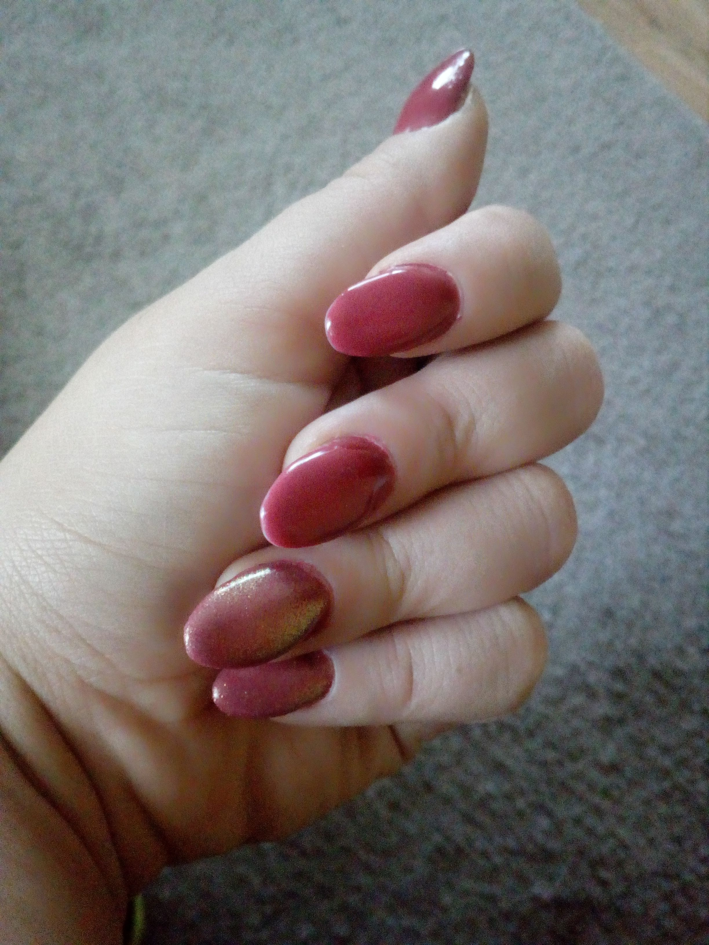 How to build nails on tipsy