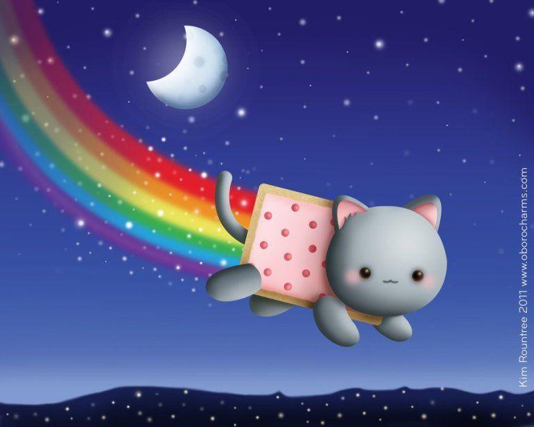 40 Free Hd Cute Cartoon Wallpapers For Desktop Inspiringmesh Cute Hd Hdwallpaper Computerwallpaper Deskt Nyan Cat Cute Cartoon Wallpapers Cat Wallpaper