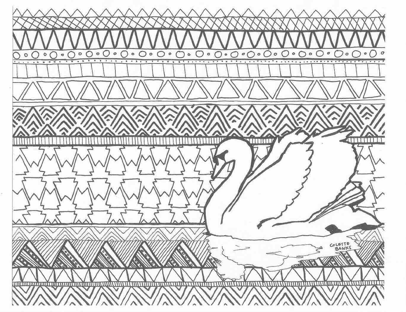 Coloring sheets for adults flamingo - Adult Coloring Page Download I Need This In My Life