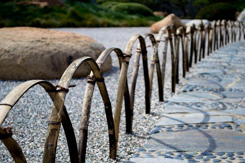 Japanese Garden Book Fence /& Wall Bamboo Woven Zen Landscape Architecture
