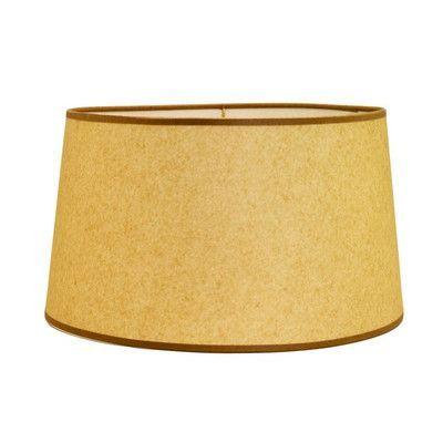 Deran Lamp Shades 15 Hard Back Linen Drum Lamp Shade Color Flax Galway Lamp Drum Lampshade