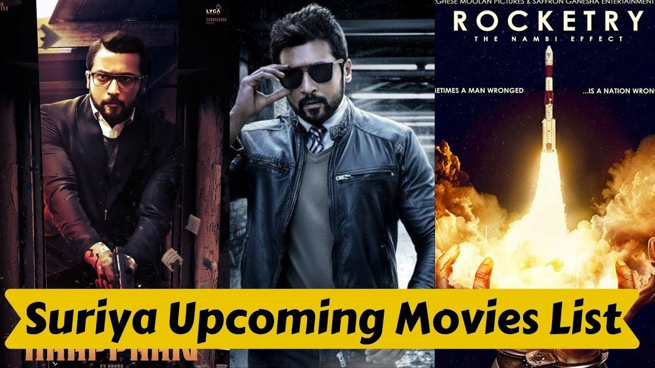 Suriya Complete Upcoming Movies List 2019 And 2020 With Cast And Release Upcoming Movies It Cast Thriller Movie