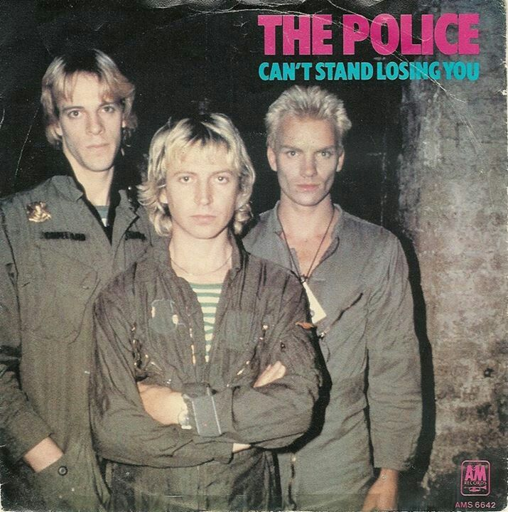 The Police Can T Stand Losing You The Police Band The Police Live Andy Summers