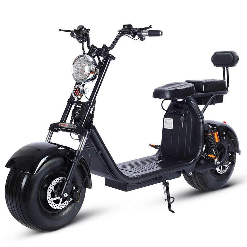 Electric Motorcycle 1500w 60v Citycoco Double Lithium Battery Fashion Car Simple Operation Electric Bicycle Aliexpress Electric Motorcycle Electric Bicycle Electric Scooter