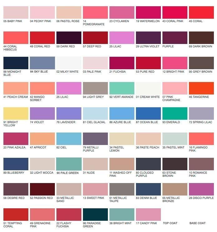 KORRES Nail Polish Colour   Choose From Over 70 Shades   I ♥ KORRES ...